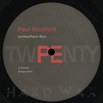 Cover art - Paul Woolford: Achilles