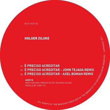 Cover art - Holger Zilske: Acid Test 04