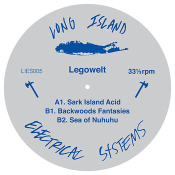 Cover art - Legowelt: Sark Island Acid