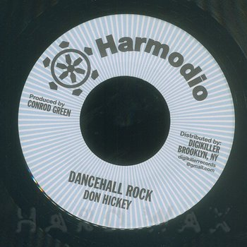 Cover art - Don Hickey: Dancehall Rock