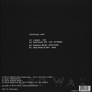 Cover art - Various Artists: Twentyfour Ways
