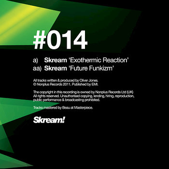 Cover art - Skream: Exothermic Reaction