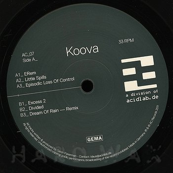 Cover art - Koova: Erem