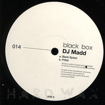 Cover art - DJ Madd: Blank Space EP