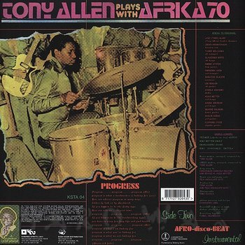 Cover art - Tony Allen: Plays With Afrika 70: Progress