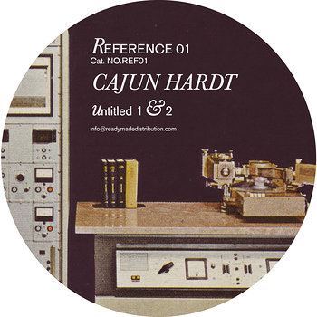 Cover art - Cajun Hardt: Untitled 1 & 2