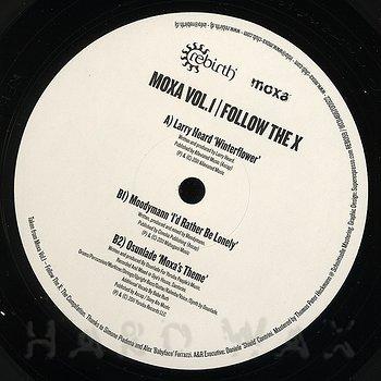Cover art - Various Artists: Moxa Vol. 1 - Follow The X