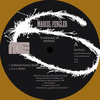 Cover art - Marcel Fengler: Thwack Remixes