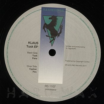 Cover art - Klaus: Tusk EP