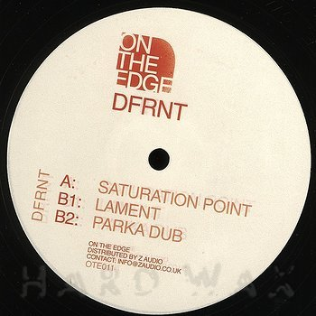 Cover art - DFRNT: Saturation Point