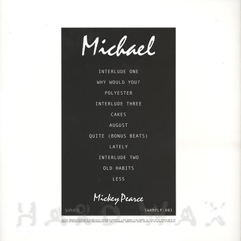 Cover art - Mickey Pearce: Michael