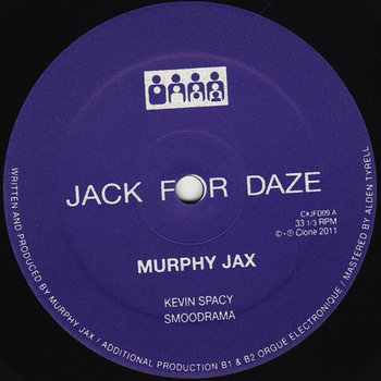 Cover art - Murphy Jax: Kevin Spacy