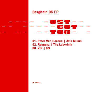 Cover art - Various Artists: Berghain 05 12""