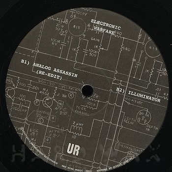 Cover art - Underground Resistance: Electronic Warfare