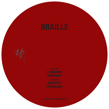 Cover art - Braille: Braille EP