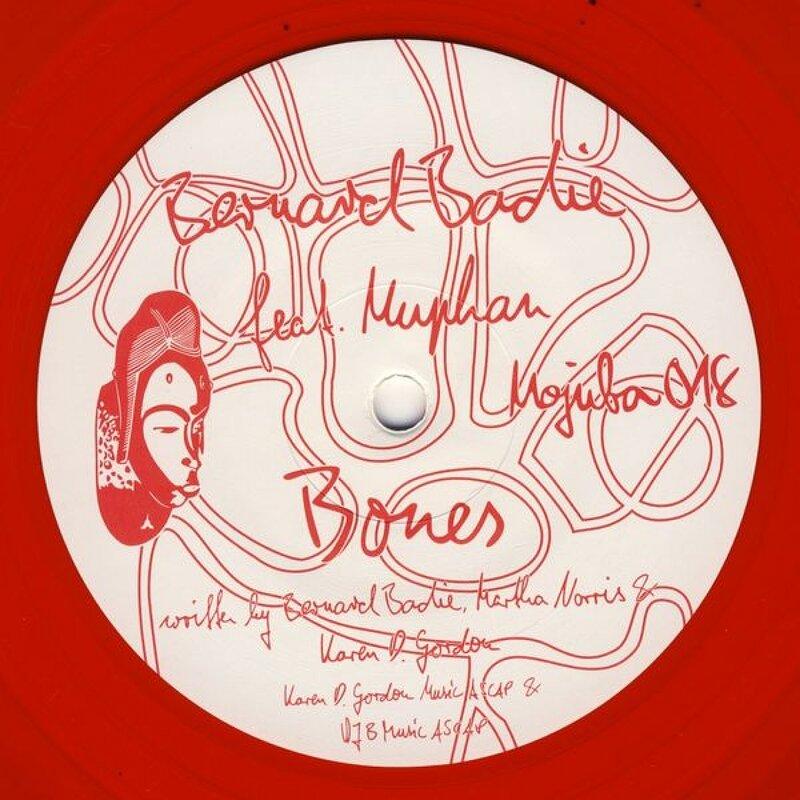 Cover art - Bernard Badie: Bones (feat. Muphan)