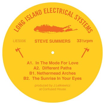 Cover art - Steve Summers: Mode For Love EP