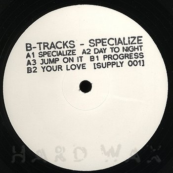 Cover art - B-Tracks: Specialize
