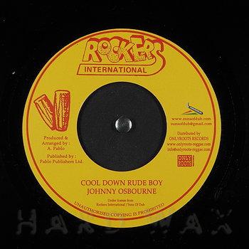 Cover art - Johnny Osbourne: Cool Down Rude Boy