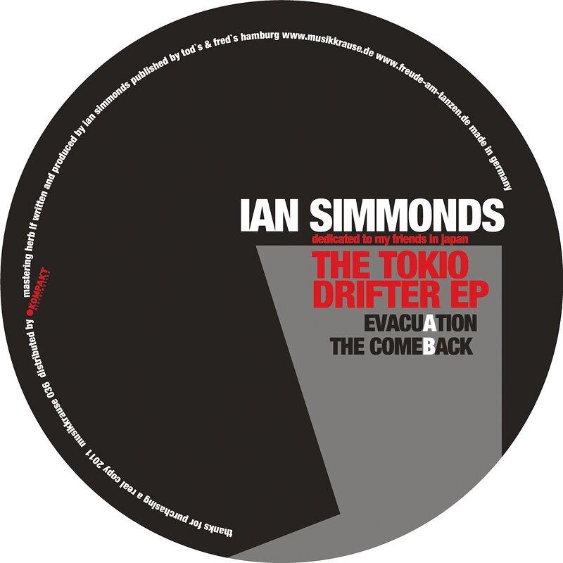 Cover art - Ian Simmonds: The Tokyo Drifter EP