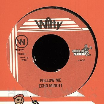 Cover art - Echo Minott: Follow Me