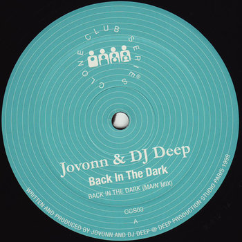 Cover art - Jovonn & DJ Deep: Back In The Dark