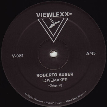 Cover art - Roberto Auser: Lovemaker