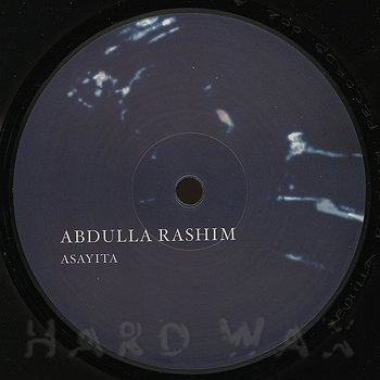 Cover art - Abdulla Rashim: Asayita