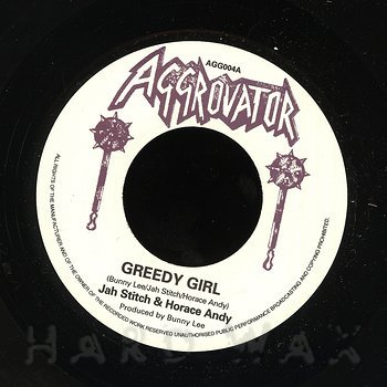 Cover art - Jah Stitch & Horace Andy: Greedy Girl