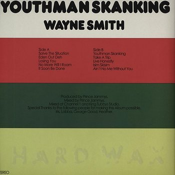 Cover art - Wayne Smith: Youthman Skanking