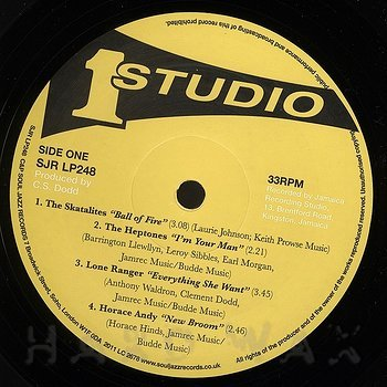 Cover art - Various Artists: The Legendary Studio One Records