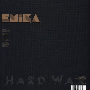 Cover art - Emika: Emika