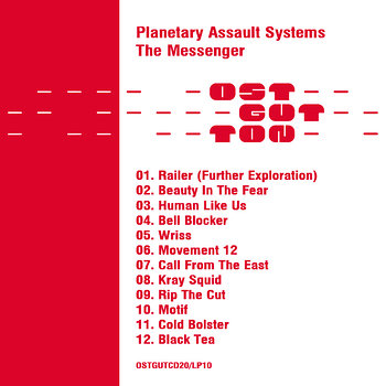 Cover art - Planetary Assault Systems: The Messenger