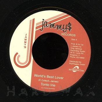 Cover art - Tonto Irie: World's Best Lover