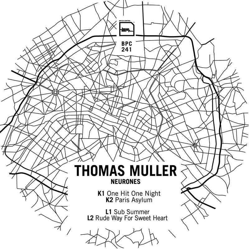 Cover art - Thomas Muller: Neurones