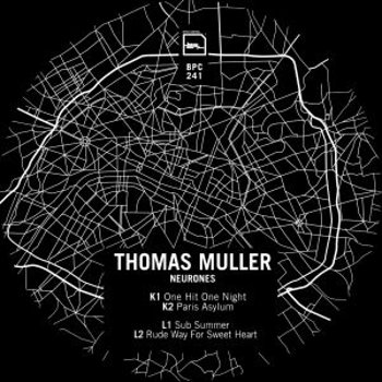 Cover art - Thomas Muller: Neurones