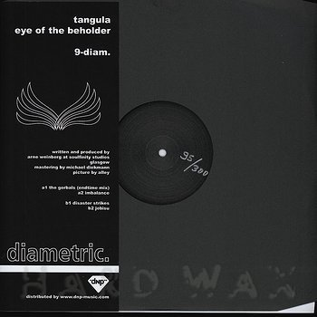 Cover art - Tangula: Eye Of The Beholder