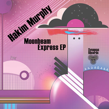 Cover art - Hakim Murphy: Moonbeam Express EP