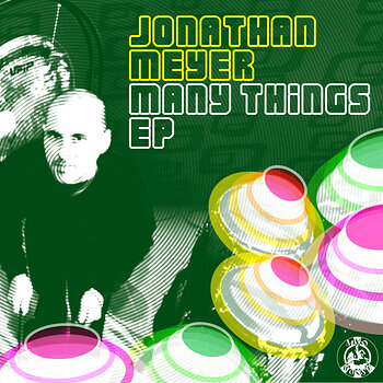 Cover art - Jonathan Meyer: Many Things EP
