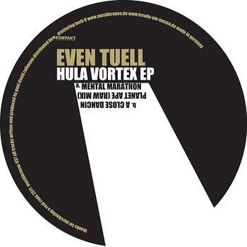Cover art - Even Tuell: Hula Vortex EP