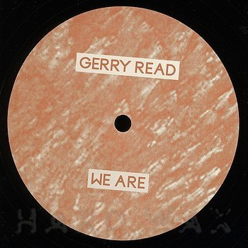 Cover art - Gerry Read: We Are