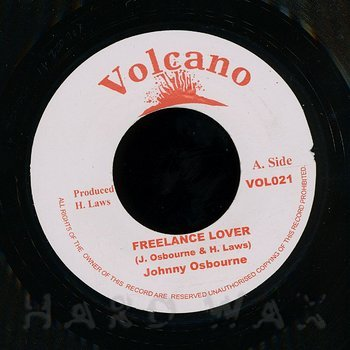 Cover art - Johnny Osbourne: Freelance Lover