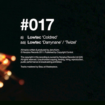 Cover art - Lowtec: Coldred
