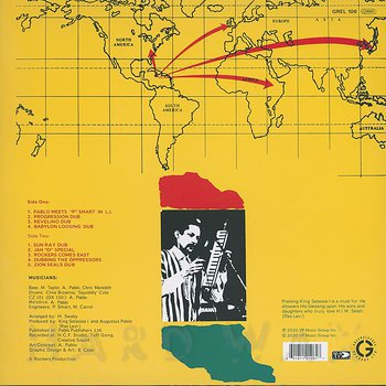 Cover art - Augustus Pablo & Rockers International Band: Rockers Comes East