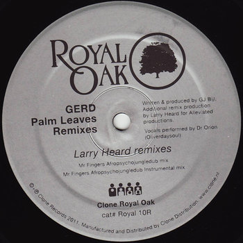 Cover art - Gerd: Palm Leaves - Remixes