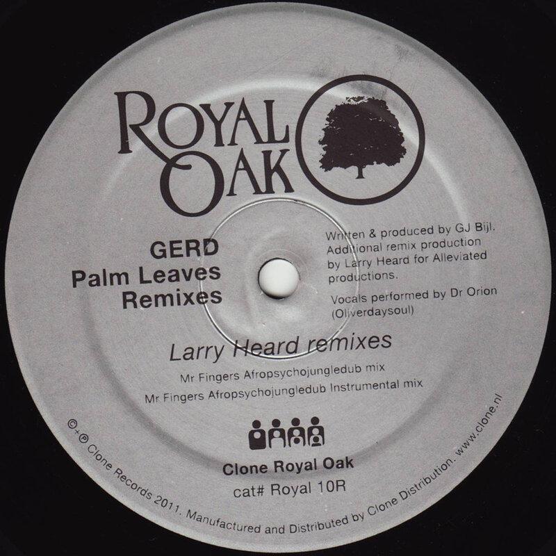 Cover art - Gerd: Palm Leaves - Remixes