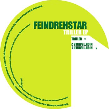 Cover art - Feindrehstar: Triller EP