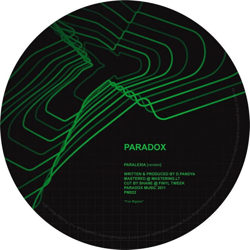 Cover art - Paradox: Paralexia