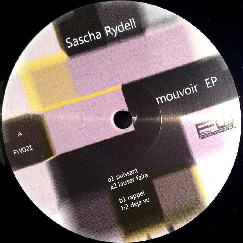 Cover art - Sascha Rydell: Mouvoir EP