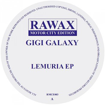 Cover art - Gigi Galaxy: Lemuria EP